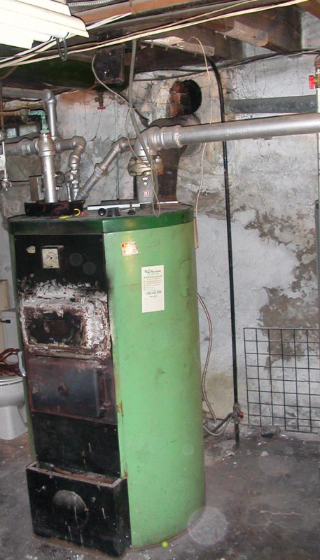 Oil Fired Boiler (Before)